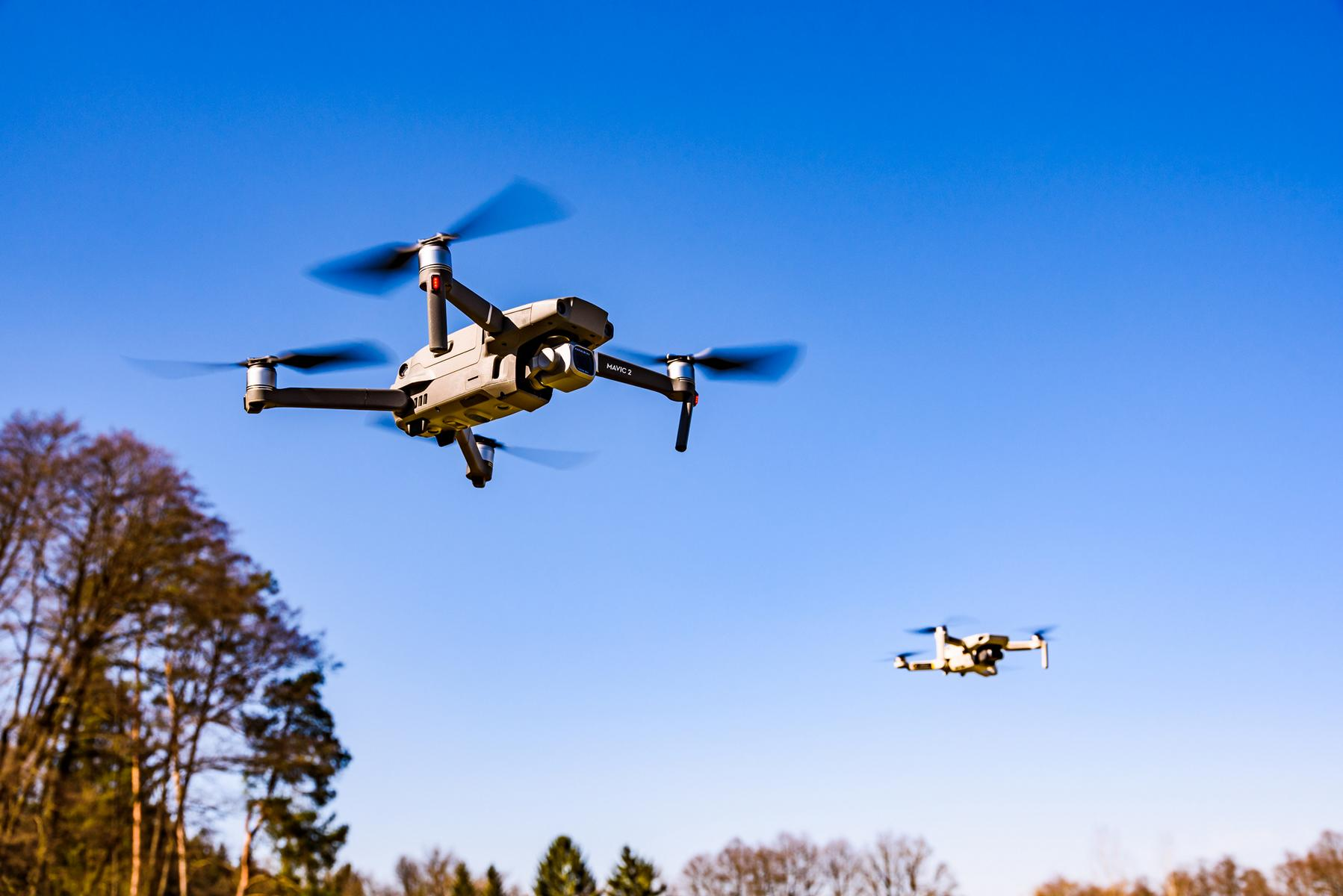 Drohnen im Einsatz bei der Immobilienbwertung